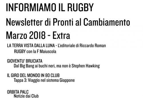 Informiamo il Rugby – Marzo 2018 Extra