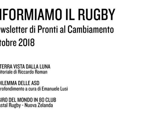 Informiamo il Rugby – Ottobre 2018