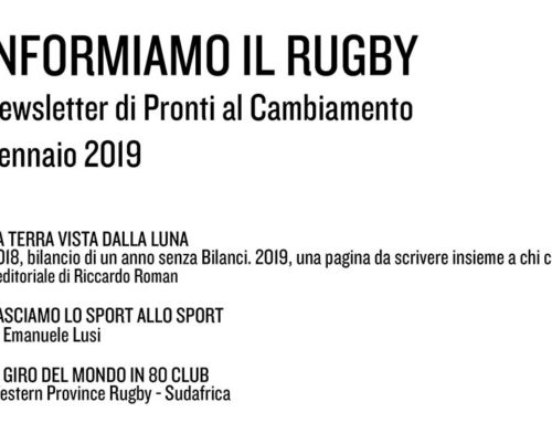 Informiamo il Rugby – Gennaio 2019