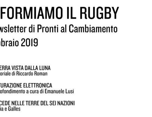 Informiamo il Rugby – Febbraio 2019