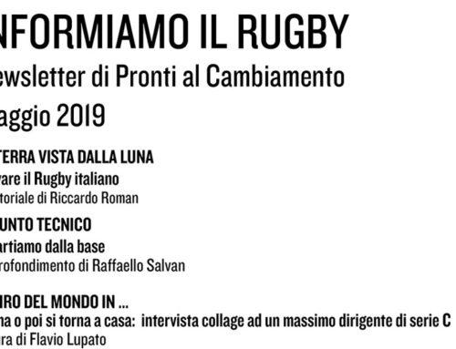 Informiamo il Rugby – Maggio 2019
