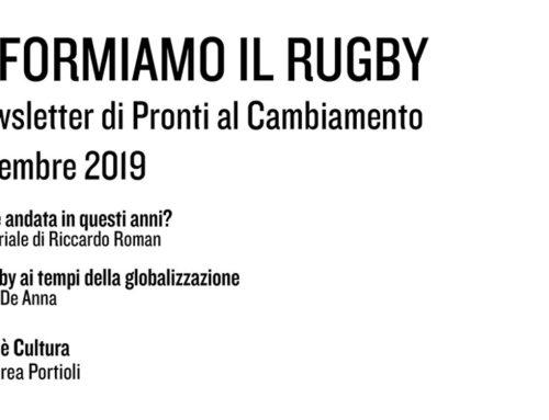 Informiamo il Rugby – Dicembre 2019